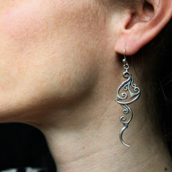Sailing Boat Handcrafted Sterling Silver Earrings