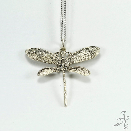 Dragonfly Sterling Silver Handcrafted Pendant