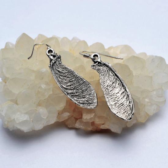 Maple Tree Leaf Stering Silver Set